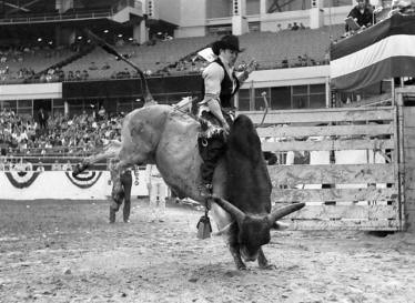 George Paul Memorial Bullriding Del Rio Texas